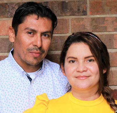 Milton and Erika Pacheco