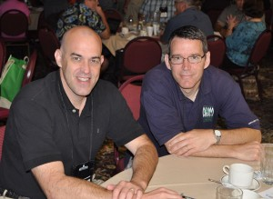 Todd Fetters (left) and Dave Datema.