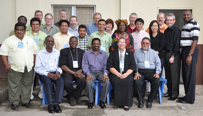 Delegates and attendees at the 2010 General Conference in La Ceiba, Honduras.