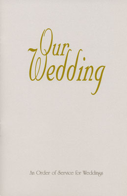 Wedding Booklet